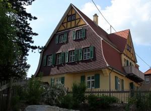 Die Villa Wiegestube in der Villa-Hiller in Geislingen an der Steige